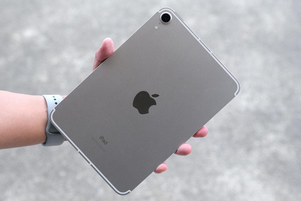 iPad mini(第6世代)筐体の素材