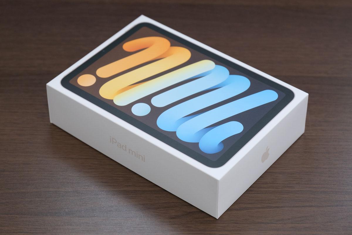iPad mini6のパッケージデザイン