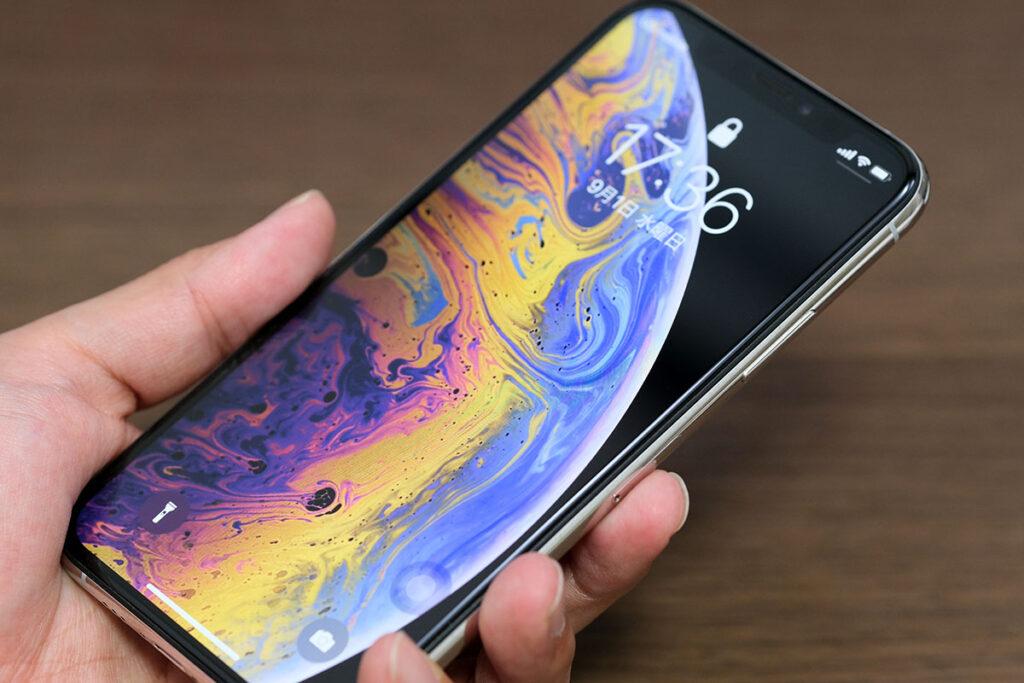 au CertifiedのiPhone XS