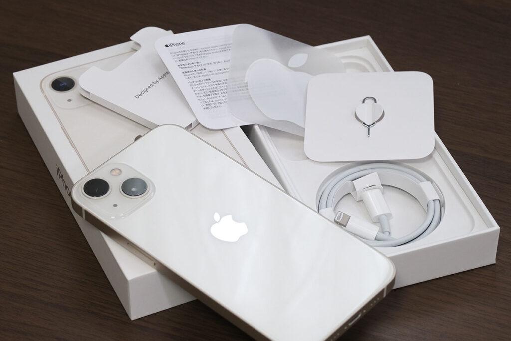 iPhone 13 同梱品一式