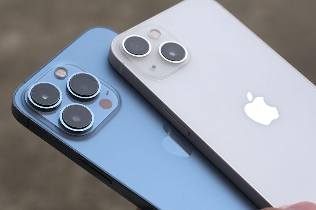 iPhone トリプルカメラとデュアルカメラ