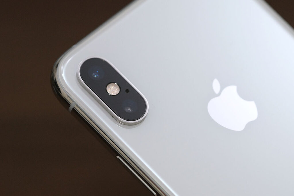 iPhone XS リアカメラ