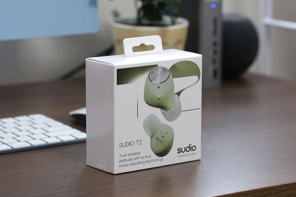 Sudio T2のパッケージデザイン