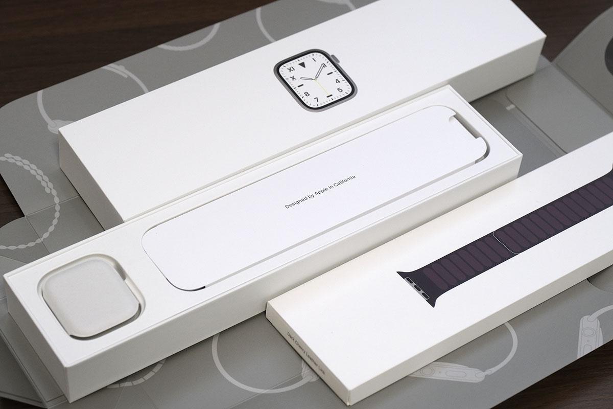 Apple Watch Edition 梱包状態