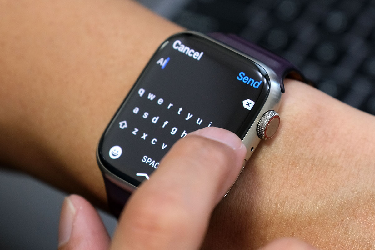 Apple Watch キーボード入力