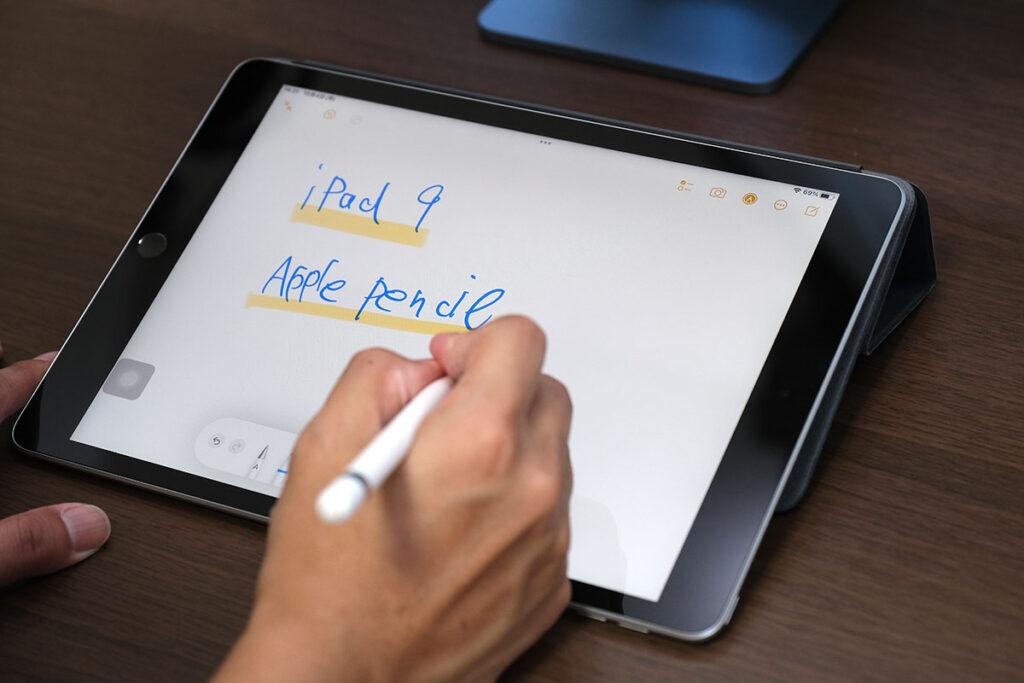 iPad(第9世代)とApple Pencil