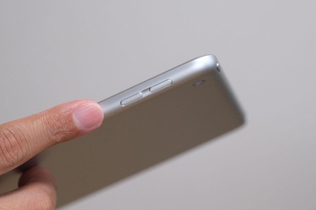 iPad(第9世代)ボタンの配置