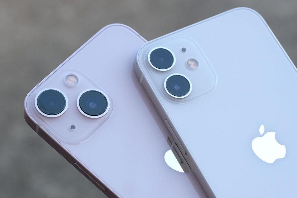 iPhone 13 mini・12 mini リアカメラ
